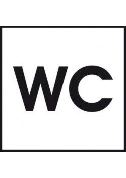 Знак «Указатель туалета» A-01
