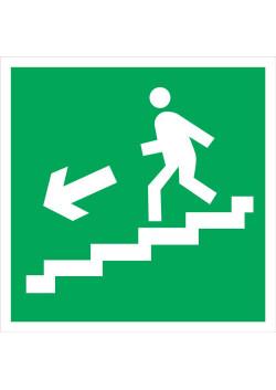 """Знак """"Вниз по лестнице"""" E-14"""