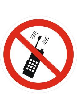 """Знак """"Запрещается пользоваться мобильным телефоном"""" P-18"""