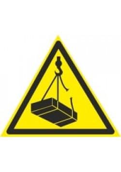 """Знак """"Внимание возможно падение груза"""" W-06"""