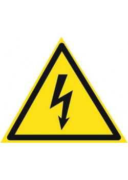 """Знак """"Возможность поражения электрическим током"""" W-08"""