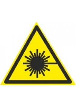 """Знак """"Лазерное излучение"""" W-10"""