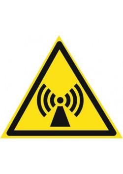 """Знак """"Электромагнитное излучение"""" W-12"""