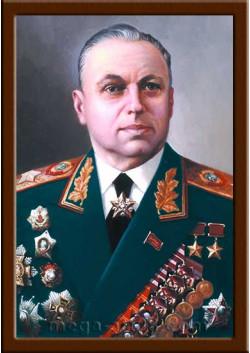 Портрет Рокоссовский К.К. ПТ-51-2