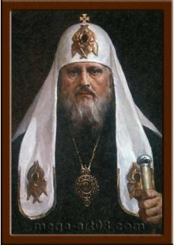 Портрет Патриарх Пимен ПТ-27-1