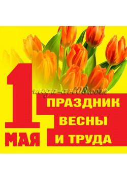Купить наклейку к 1 мая НК-45