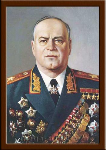 Заказать портрет Жуков Г.К. ПТ-50-1