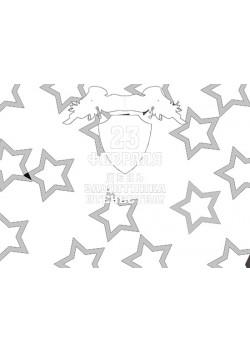 Стенгазета раскраска к 23 февраля СГ-3