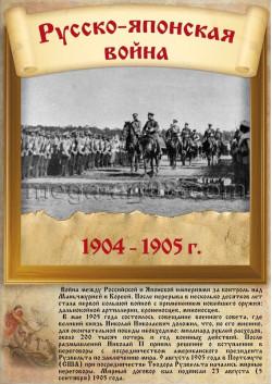 Купить постер Русско-японская война ПЛ-211