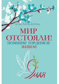 Плакат с 9 мая ПЛ-114