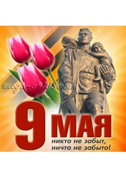 Купить наклейку к 9 мая НК-53