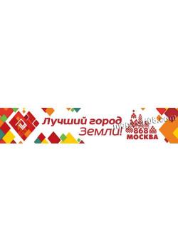 Баннер ко дню города Москвы БГ-137 в концепции оформления 2015 г.
