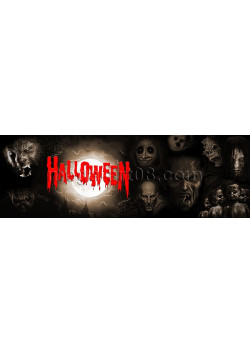 Баннер горизонтальный на Хеллоуин БГ-1