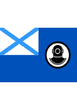 Флаг поисково-спасательного ВМФ России