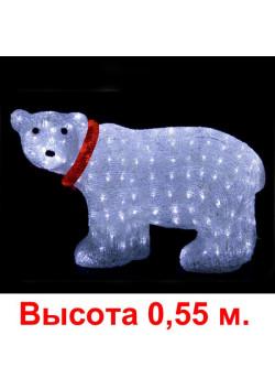 """Объемная световая фигура """"Медведь"""" h055"""