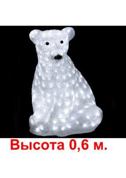 """Объемная световая фигура """"Медведь"""" h06"""