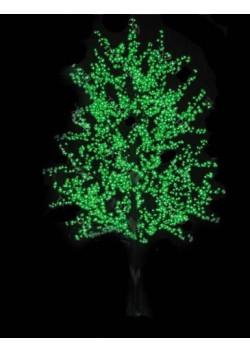 Липа большая зеленая светодиодная 3 м 2664 светодиодов