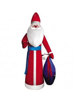 """Надувная новогодняя фигура """"Дед Мороз в красной шубе"""" 2,8 м"""