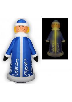 """Надувная новогодняя фигура """"Снегурочка веселая"""" 1,8 м"""