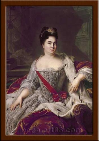 Портрет Екатерина I (период правления 1725-1727гг.)