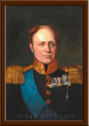 Портрет Александр I (период правления 1801-1825гг.)