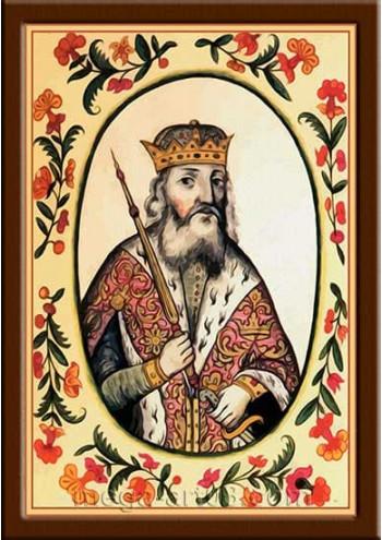 Портрет Святослав I Игоревич (период правления 945-972гг.)