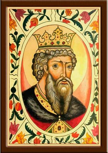 Портрет Владимир Святославич (период правления 978-1015гг.)