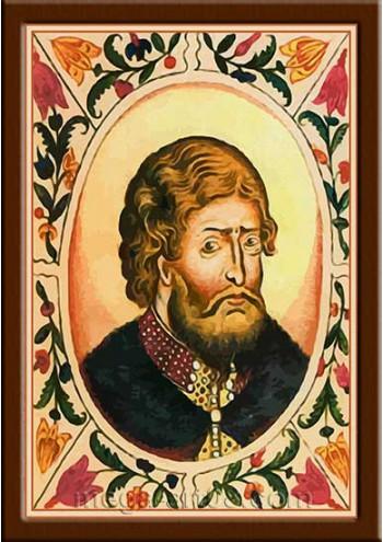 Портрет Ярополк II Владимирович (период правления 1132-1139гг.)