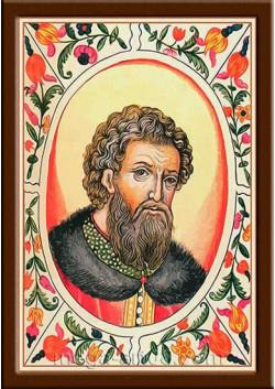 Портрет Александр I Ярославич (период правления 1249-1263гг.)