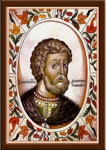 Портрет Дмитрий III Иванович (период правления 1359-1389гг.)