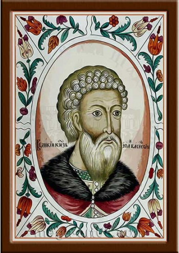 Портрет Иван III Васильевич (период правления 1462-1505гг.)
