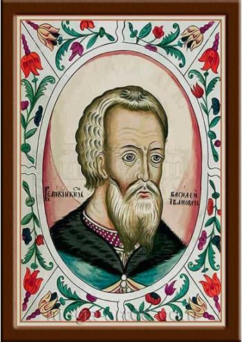 Портрет Василий III Иванович (период правления 1505-1533гг.)