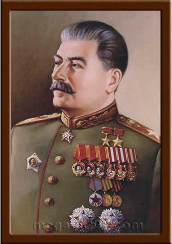Портрет Сталин И.В. (период правления 1922-1953гг.) ПТ-14-1