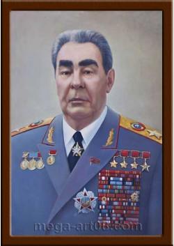 Портрет Брежнев Л.И. ПТ-14-10