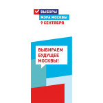 Баннеры на выбора мэра города Москвы