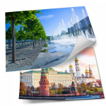 Постеры из серии «Виды Москвы»