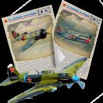 Постеры на 9 мая, День Победы из серии «Авиация Победы»