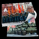 Постеры на 9 мая из серии «Парад Победы»