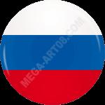 Подвесные двухсторонние фигуры на День России