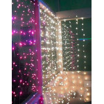 Световой занавес и LED бахрома