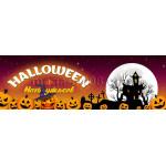 Баннеры горизонтальные на Хэллоуин