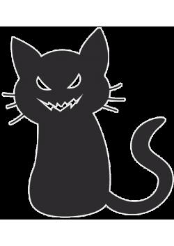 """Подвесная фигура """"Кошка"""" на Хэллоуин ПФ-18"""