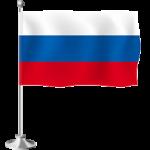 Флаг настольный на пластиковой и металлической подставке