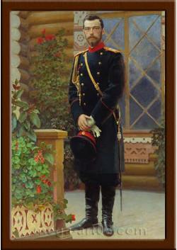 Портрет Николай II ПТ-99-3