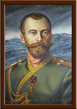 Портрет Николай II ПТ-99-4