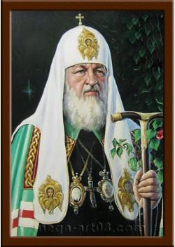 Портрет Патриарх Кирилл ПТ-5-6