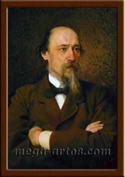 Портрет Некрасов Н.А. ПТ-189-1