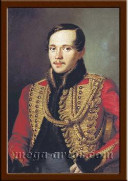 Портрет Лермонтов М.Ю. ПТ-203-1