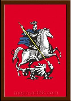 Постер Герб Москвы в рамке ПЛ-204