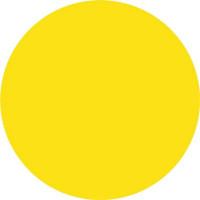 Знак безопасности «Желтый круг для слабовидящих»